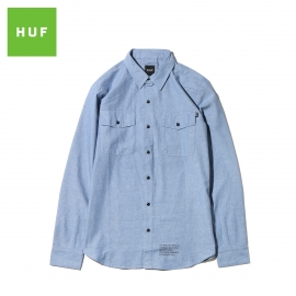 HUF CAMISA MFG BLUE