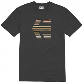 ETNIES DECK ICON TEE BLACK