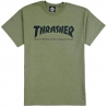 THRASHER SKATE MAG ARMY GREEN