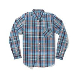 LRG Camisa RC LS Plaid